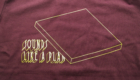 shop_SOUNDLIKEAPLAN_Tシャツ_[バーガンディ]_正面アップ